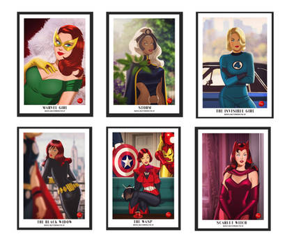 Marvel Pin Ups