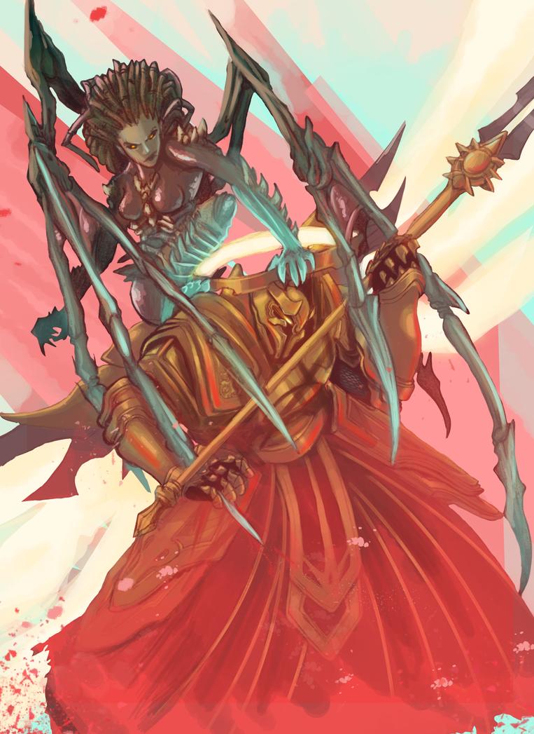 Imperius V Kerrigan by yoxbot