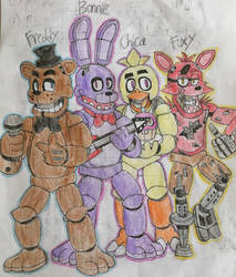 Remember Us? by WitheredFreddy1993