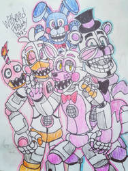 The Funtimers (Complete Set) by WitheredFreddy1993
