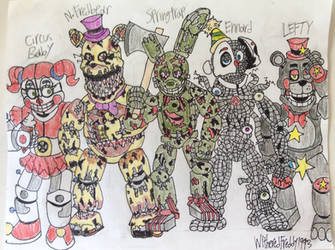 The Afton Saga by WitheredFreddy1993