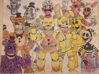 UCN: Reddit's most wanted characters by WitheredFreddy1993