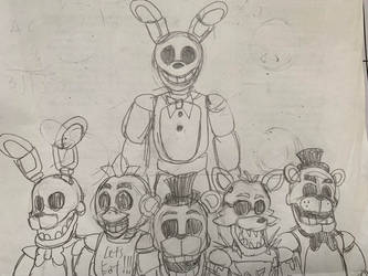Sleep tight...My Children... by WitheredFreddy1993