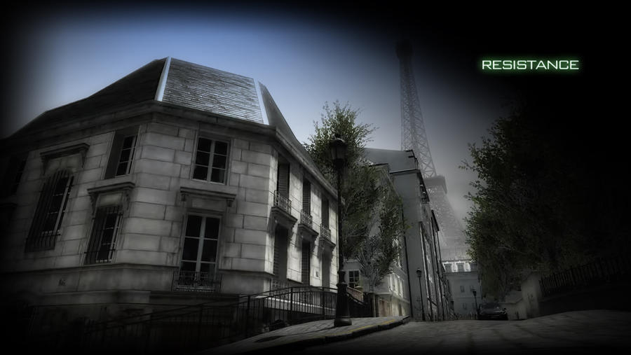 mw3 Resistance map by Tralfamagore on DeviantArt