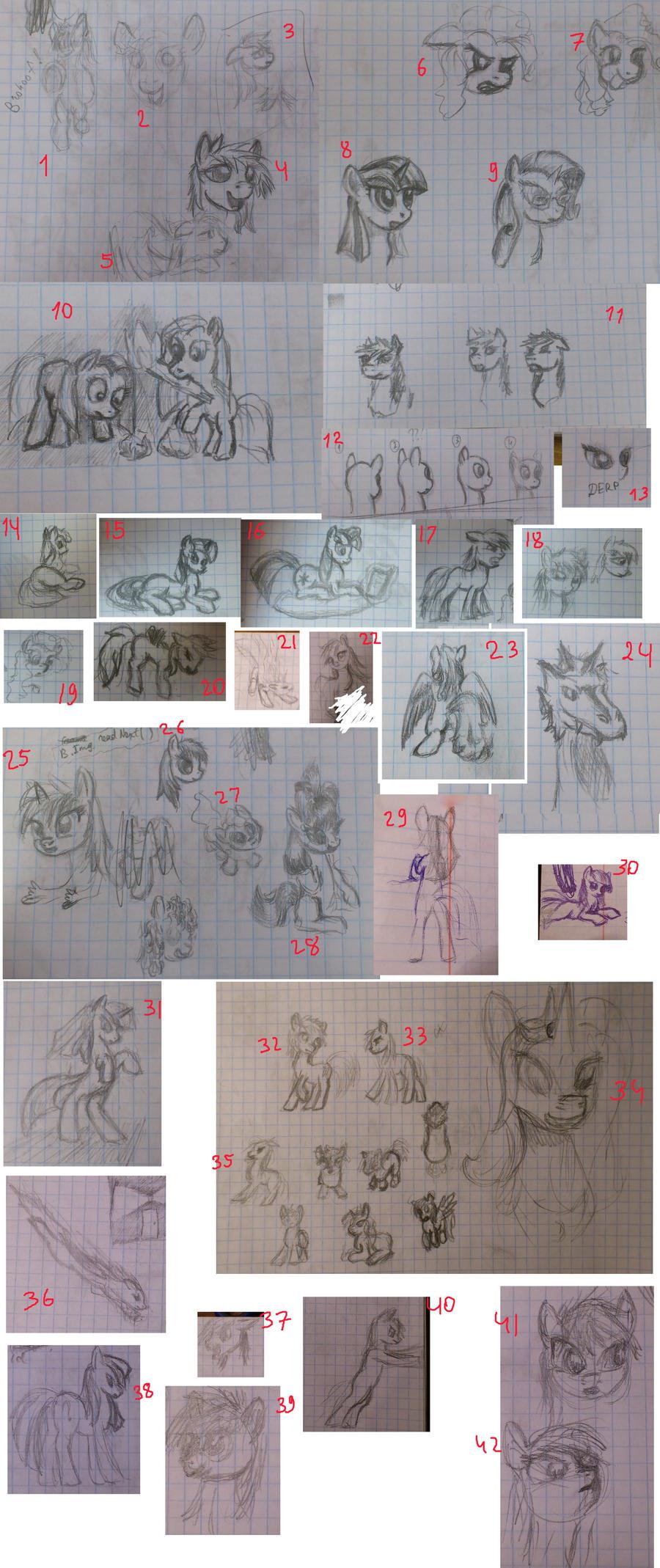 Sketchdump by Sokolas