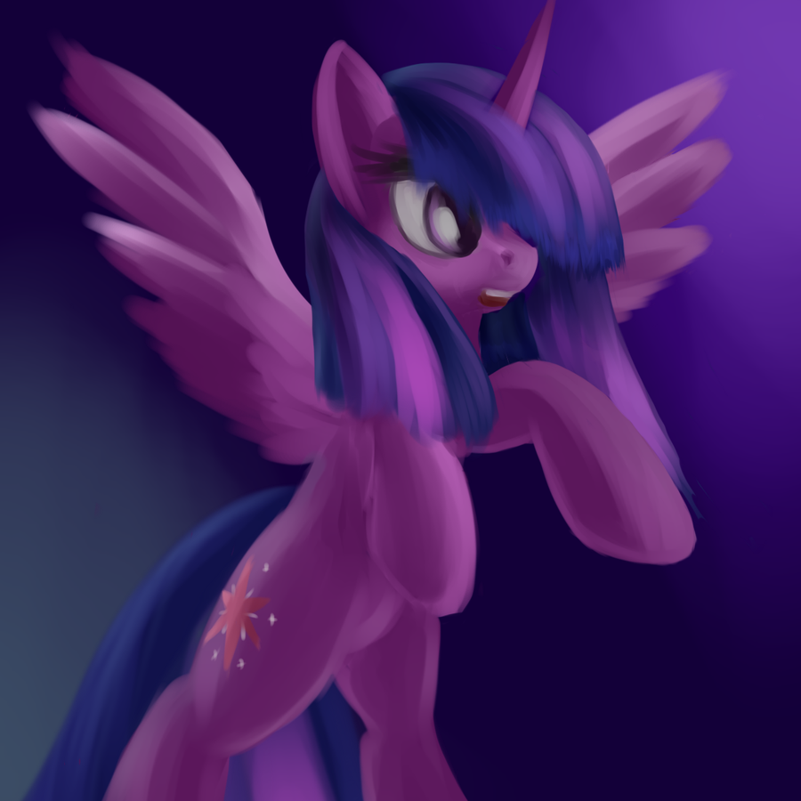 Alicorn Twilight by Sokolas