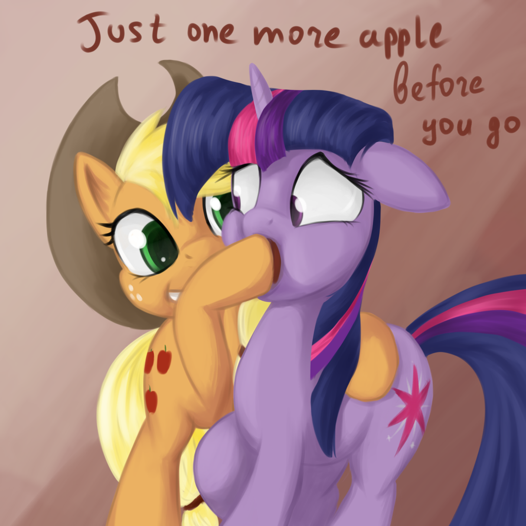Just One More Apple by Sokolas