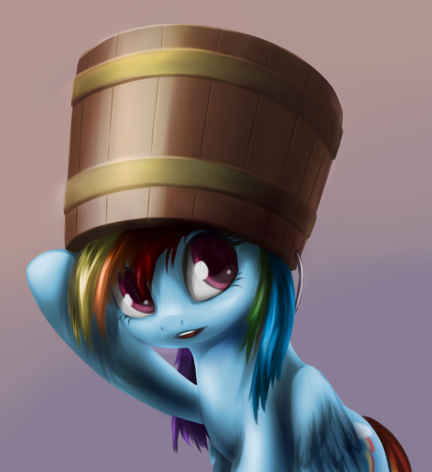 Dash Buckethead by Sokolas