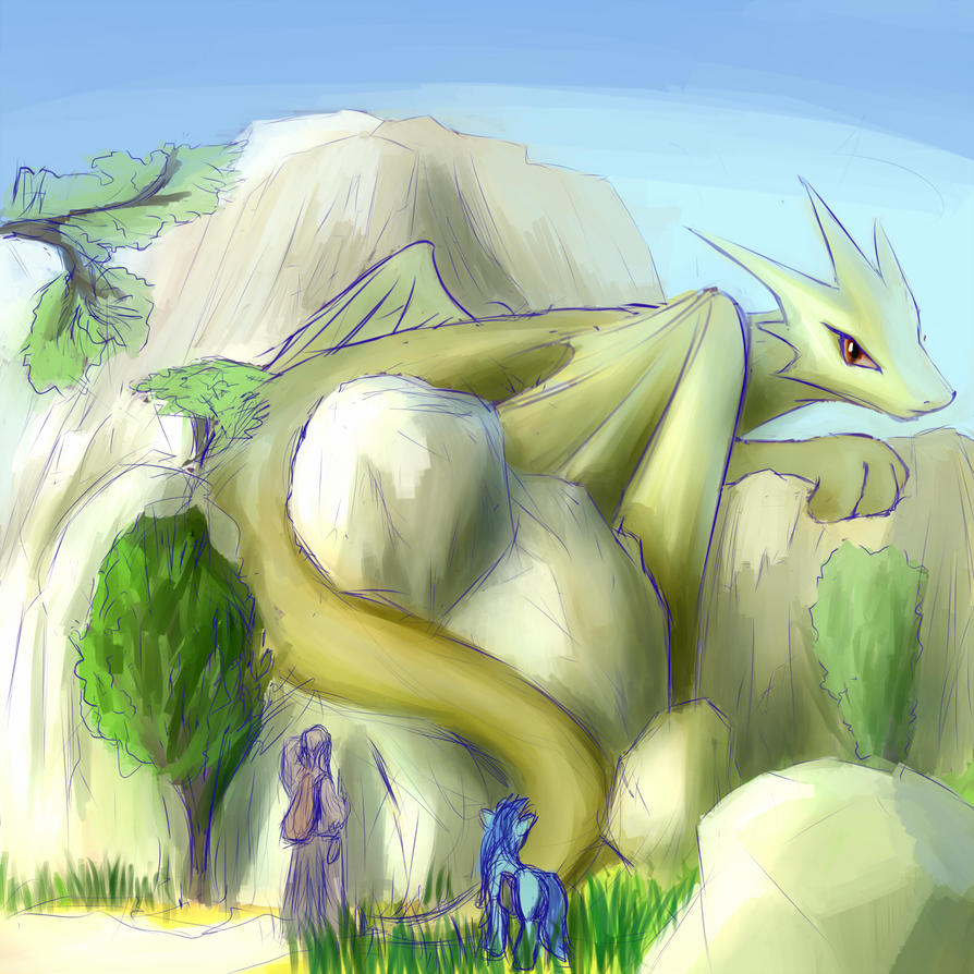 Dragon Rock by Sokolas