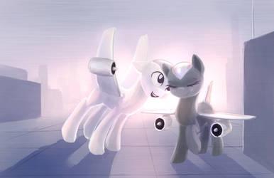 Plane Ponies by Sokolas