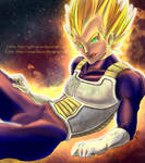 COLLAB: Why, hello there... - Vegeta (DBZ)