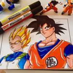 Vegeta and Goku (DBZ)