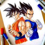 Unwilling Partners - Goku/Vegeta (DBZ)