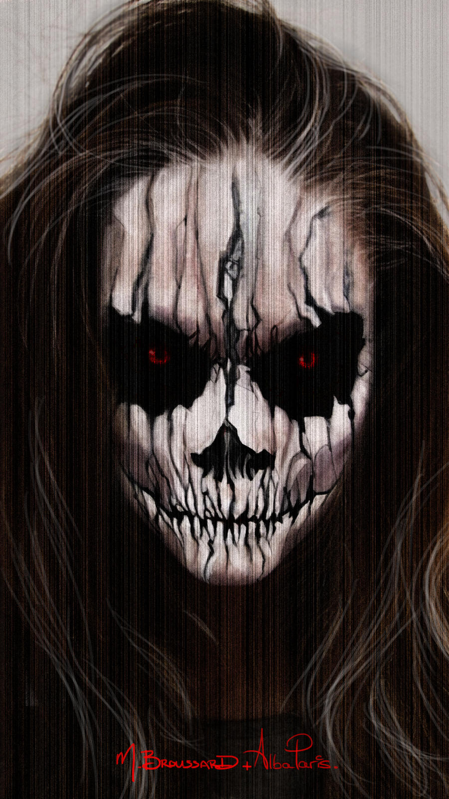 halloween face paintmichaelbroussard on deviantart