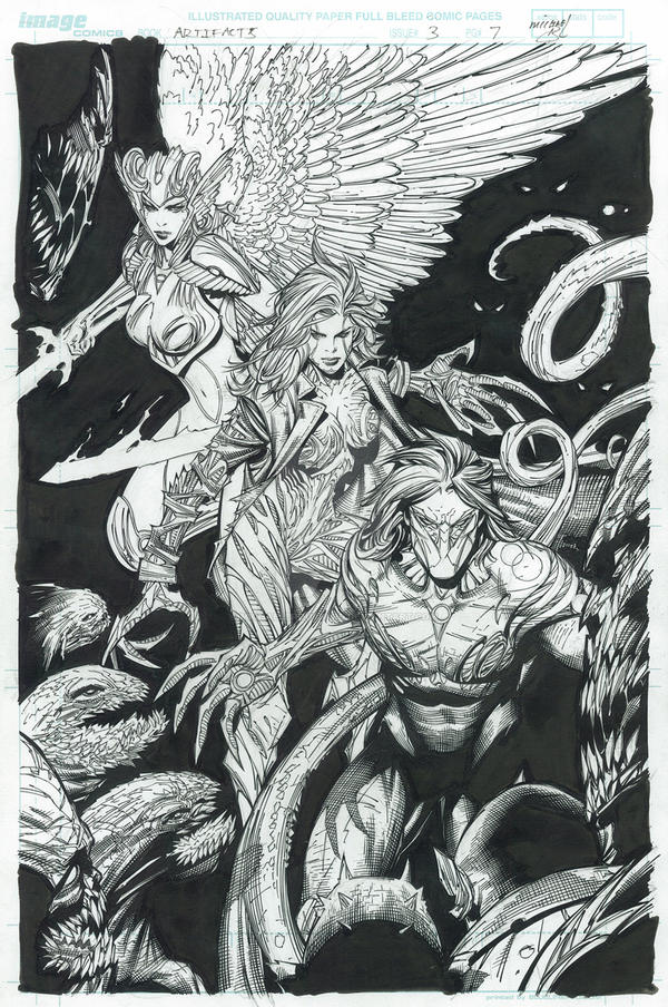 Artifacts - Issue 3 COVER by MichaelBroussard