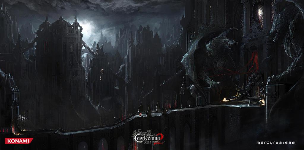 Draculas Castle By MichaelBroussard