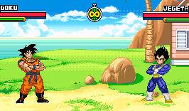 Adult Goku vs Vegeta Dragon Ball Advanced Advent..