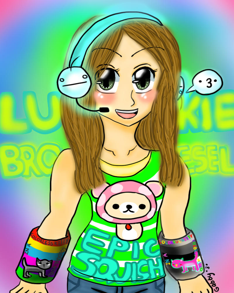 My Best Friend Lukie :3 by LinkLover37