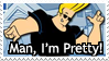 Stamp - Johnny Bravo by rthr-x
