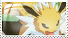 Jolteon Stamp by Storm-the-Chao