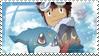 Daisuke and Veemon Stamp