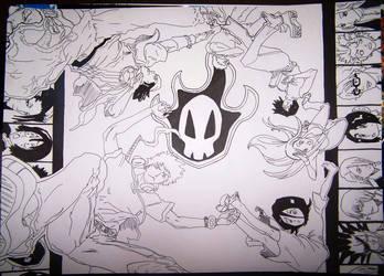Bleach - groupshot by SuiPumpkin