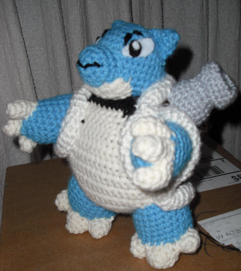Outstanding Blastoise Crochet Pattern Elaboration - Sewing Pattern ...