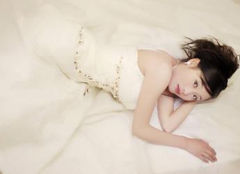 Girl in white by cnartist