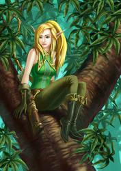 elf by cnartist