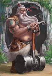 dwarf by cnartist