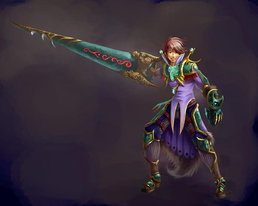 swordman by cnartist