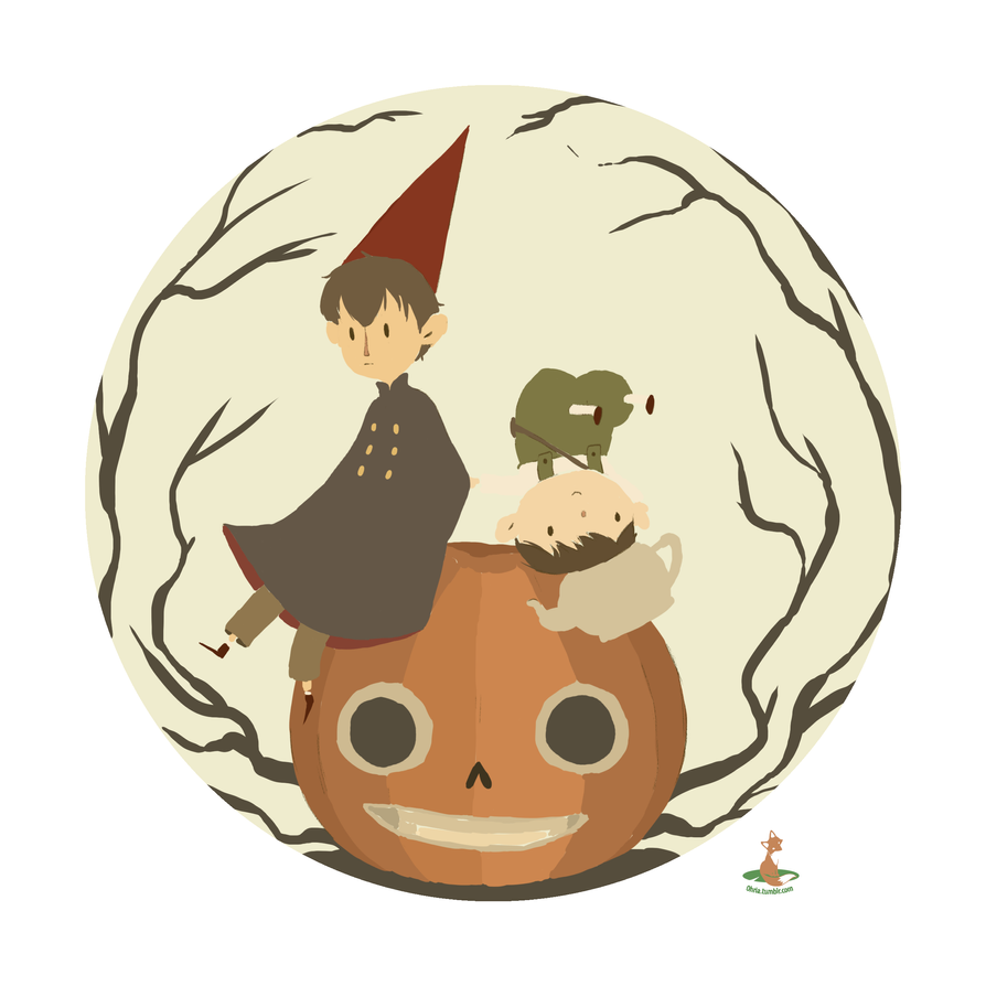 Over The Garden Wall By 0hria On Deviantart