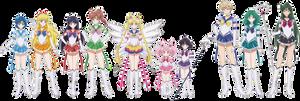 Eternal Sailor Scouts (SMC/SME)