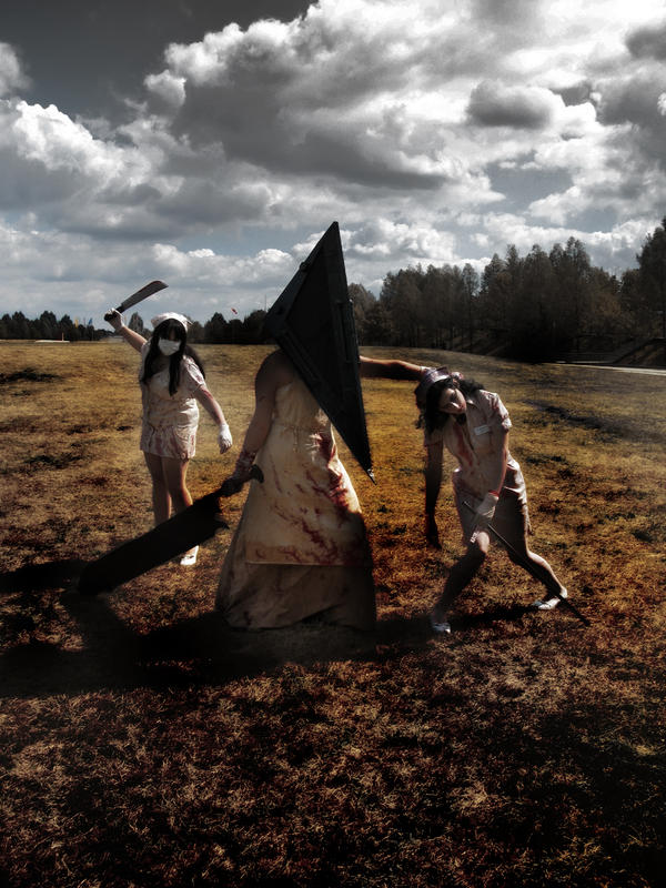 Pyramid Head strikes again by bioc