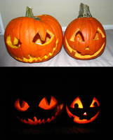 2012 pumpkins :D by Franken-Fish