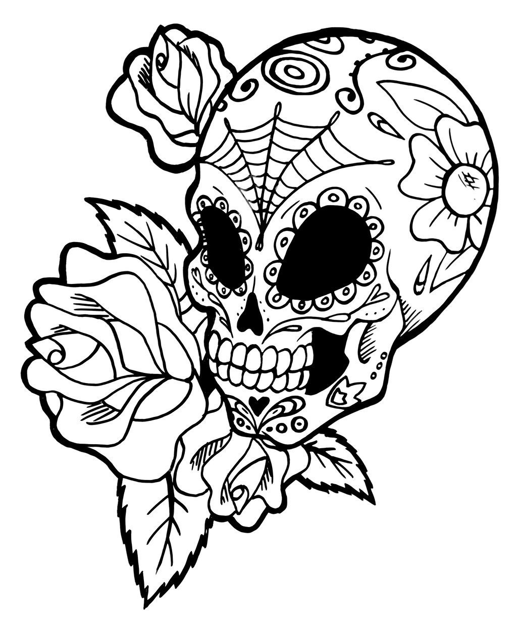 Sugar Skull By Franken Fish On Deviantart