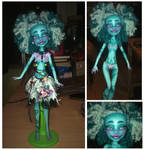 ((Custom doll)) Honey Swamp's new face by Franken-Fish