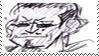 Don Mozarella stamp by Creambanan