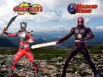 Masked Rider And Kamen Rider Dragon Knight