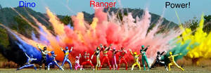 Dino Ranger Power! by MitchThe1Soul