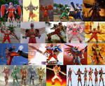 Power Rangers - Battlizers And Mega Battles by MitchThe1Soul