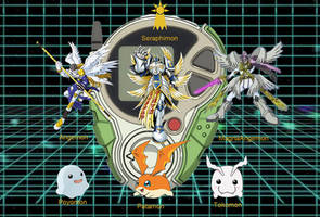 Patamon Digivolution Forms by MitchThe1Soul