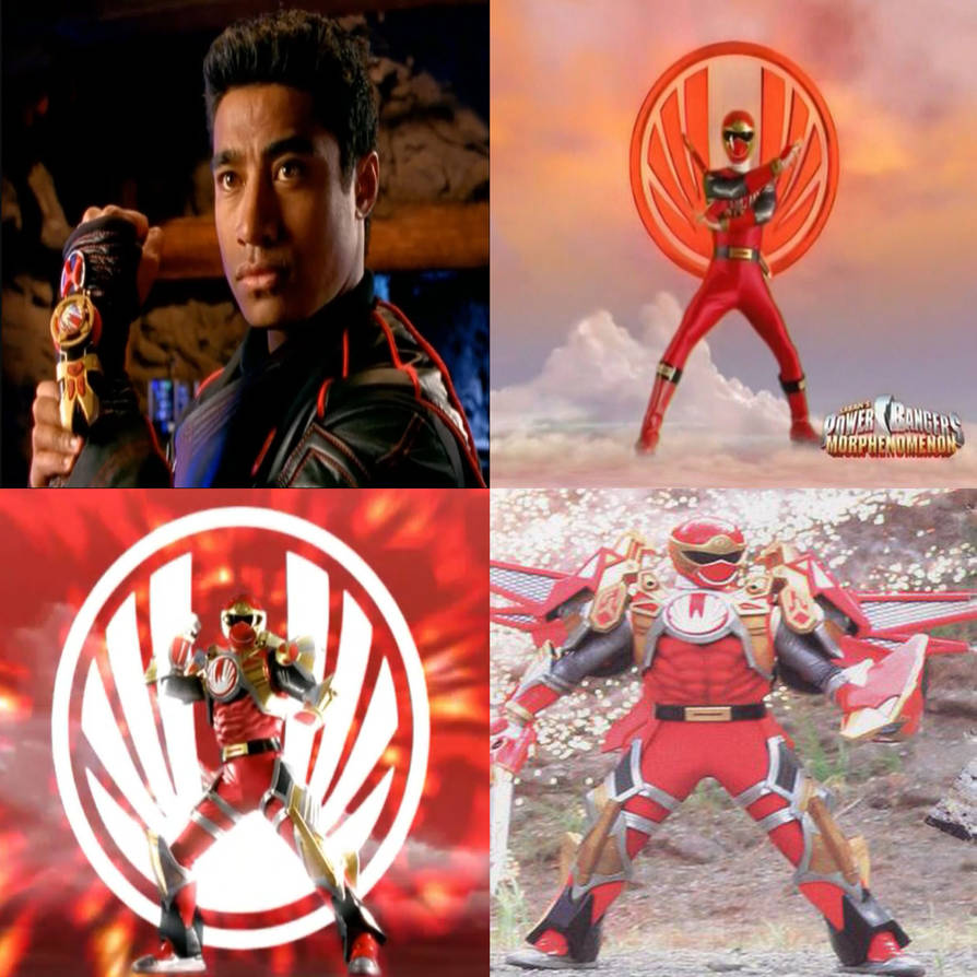 Power Rangers Ninja Storm - Red Wind Ranger by MitchThe1Soul on