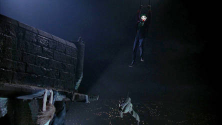 Batman, Vicki And Joker - Hanging On