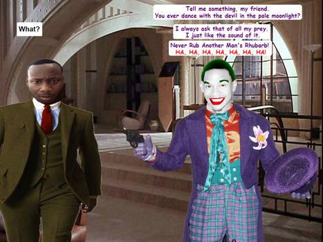 Bruce Wayne And Joker
