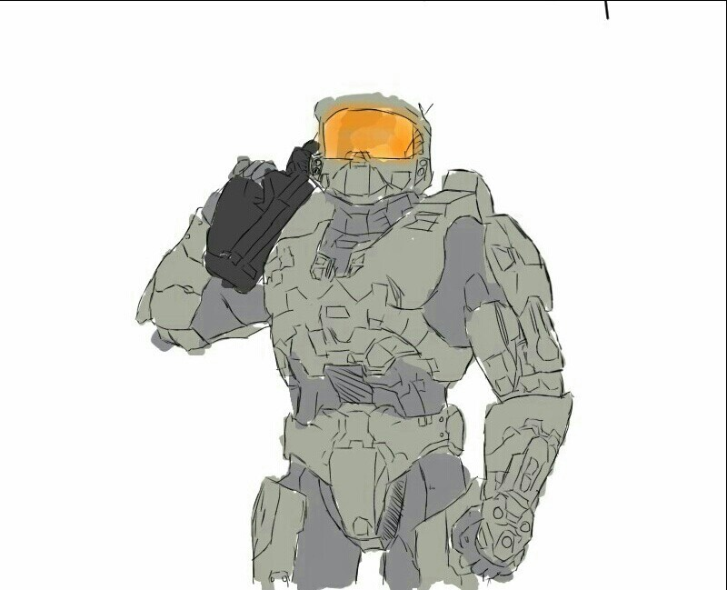 master chief by TheLoveStallion