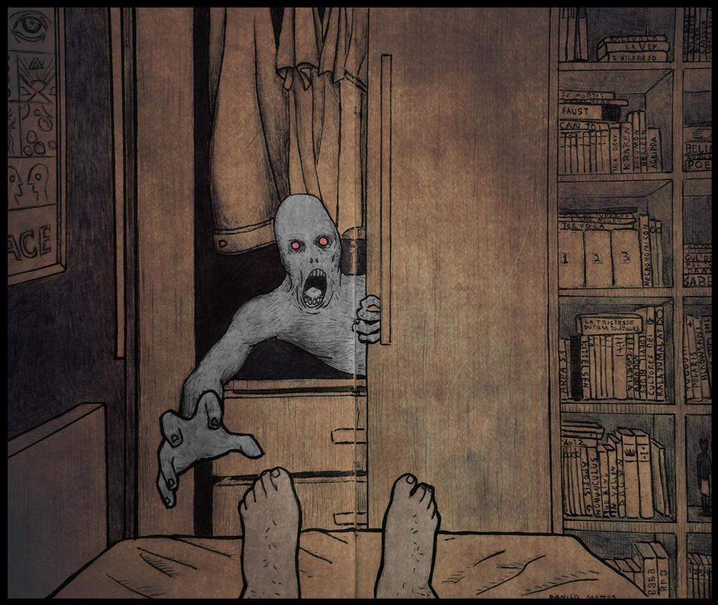 Monster in the Closet by DaniloFuckYea