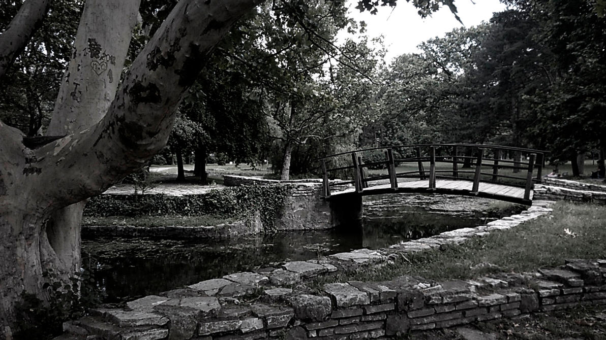 Wooden Bridge of Love by asp1xl