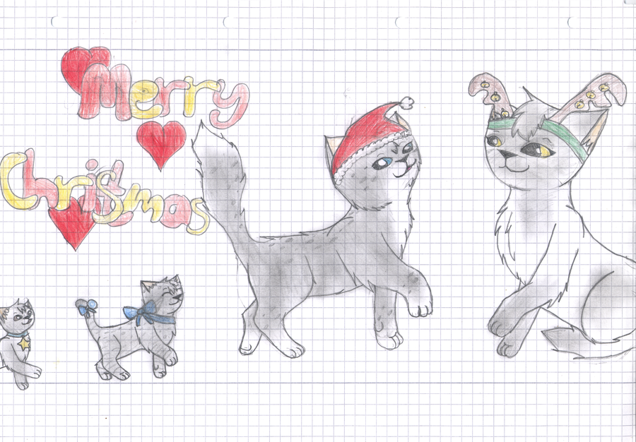 Merry Christmas! (with pencils) by Finchflight