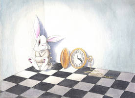White Rabbit by suzukigrrl